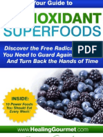 Antioxidants the Food Cure