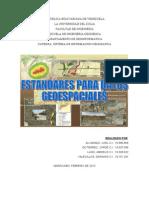 Estandares Para Datos Geoespaciales