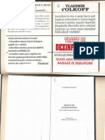 Tehnologia Minciunii--Vladimir Volkoff-Tratat de Dezinformare