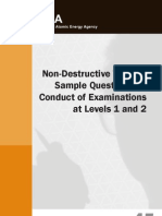 Non Destructive Testing Sample Questions