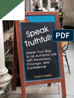 Speak Truthfully Robert-Rabbin
