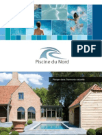 Piscine Du Nord Brochure et catalogue commercial - Piscines