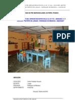 ESTUDIO DE PRE INVERSIÓN A NIVEL DE PERFIL TÉCNICO  I.E.I. N° 312 – ARANJUEZ, C. P. SHUCUSH