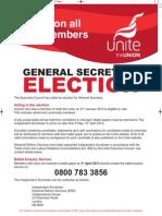 Unite GS Election Notice