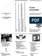 FBI Terrorism Flyer