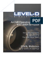 LVLD767 Manual for FSX | Cockpit | Flight Control Surfaces