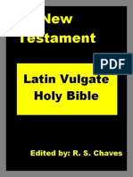 Latin Vulgate Holy Bible New Testament EPUB