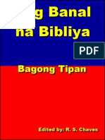 Tagalog Holy Bible New Testament EPUB