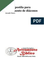 Apostila II para treinamento de diáconos