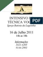 59859260 Intensivo de Tecnica Vocal