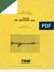 5.56 Mm Low Maintenance Rifle USA 1973