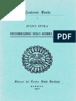 37505415 Julius Evola Considerazioni Sulla Guerra Occulta