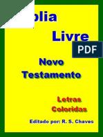 Biblia Livre NT Letras Coloridas EPUB