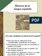 Historia de La Lengua Esp