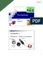 DC Machines - Slide Set