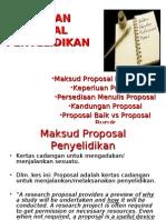 Bab 6 - Penulisan Proposal Penyelidikan