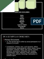Kaedah 1 - Analisis Dokumen