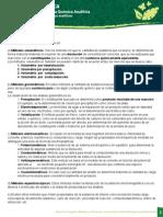 Clasificacion de Los Metodos Analiticos