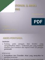 ABSES PERITONSIL &  RETROFARING AGS.ppt