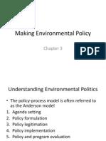Making Environmental PolicyCh3