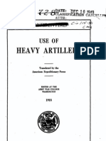Use of Heavy Artillery