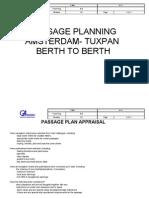 Passage Plan - Amsterdam- Tuxpan