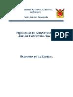 Area Economia de La Empresa