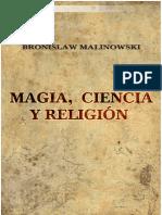 Malinowski, Bronislaw - Magia, ciencia y religiónXXXXXXXXXXXXXXXXXXXXXXX