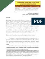 FERDINAND DENIS E A FORMAÇÃO DA LITERATURA BRASILEIRA