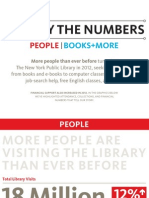 NYPL By the Numbers, 2012 Annual Report