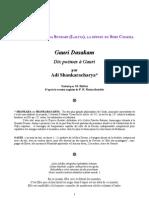 Shankara GauriDasakam Dix Poemes a Gauri