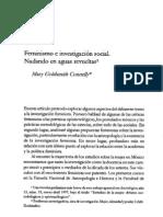 Feminismo e Investigacion Social. Texto Optativo
