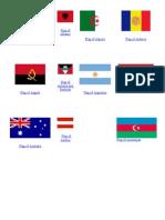 World Flags for Pretend Passport