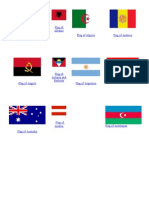 World Flags for Pretend Passport