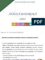 ANALIZĂ SENZORIALĂ-curs 9. CU