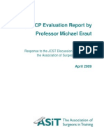The ISCP Evaluation Report Response