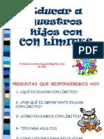 Educación con límites de Carolina Rojas Galleguillos