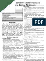 Paraclinic Cardiovascular