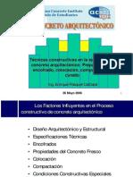 Concreto arquitectónico - ACI