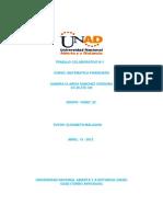 Trabajo Colaborativo n.1 Matematica Financiera