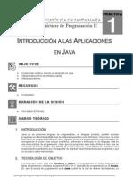 Guia de Practicas de Programacion II - Sesion No 01 - 2010