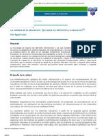 La calidad de la educación_ Ejes para su definición y evaluación