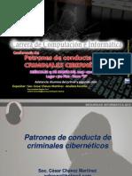 Patrones de conducta de criminales ciberneticos