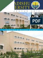 Mogadishu University Prospectus 2012