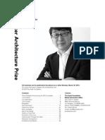 Toyo Ito de Japon Es El Premio Pritzker de Arquitectura 2013