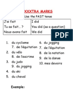 get extra marks at GCSE French 2