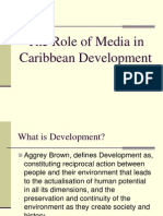 The Role of Media in Caribbean Development.ppt