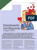 Emotionele Intelligentie Coaching 1-2012