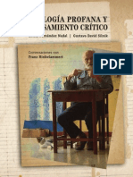 PE HINKELAMMERT - Teologia Profana Y Pensamiento Critico Conversaciones Con HINKELAMMERT