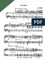 Alabieff-Liszt - The Nightingale